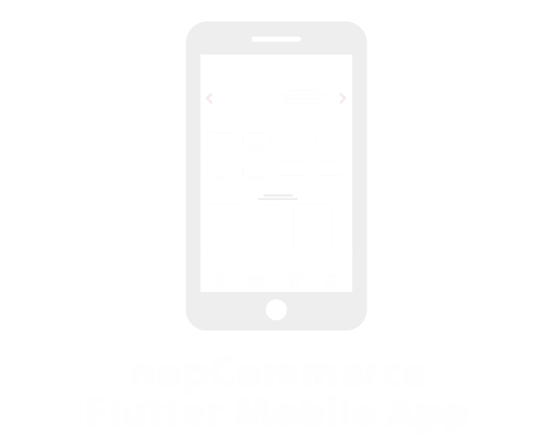 Picture of nopCommerce Customer Mobile App (Flutter: Andorid & IOS)