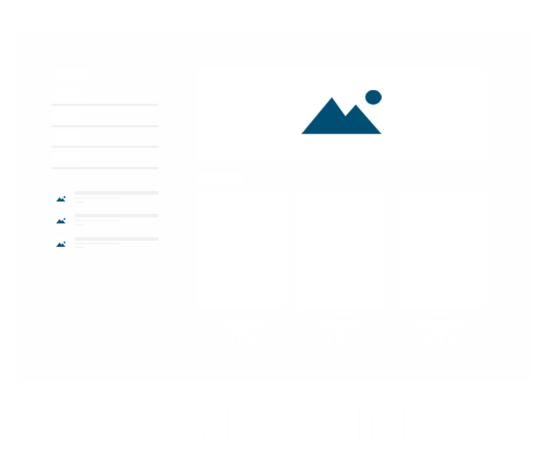 Picture of Any Place Slider